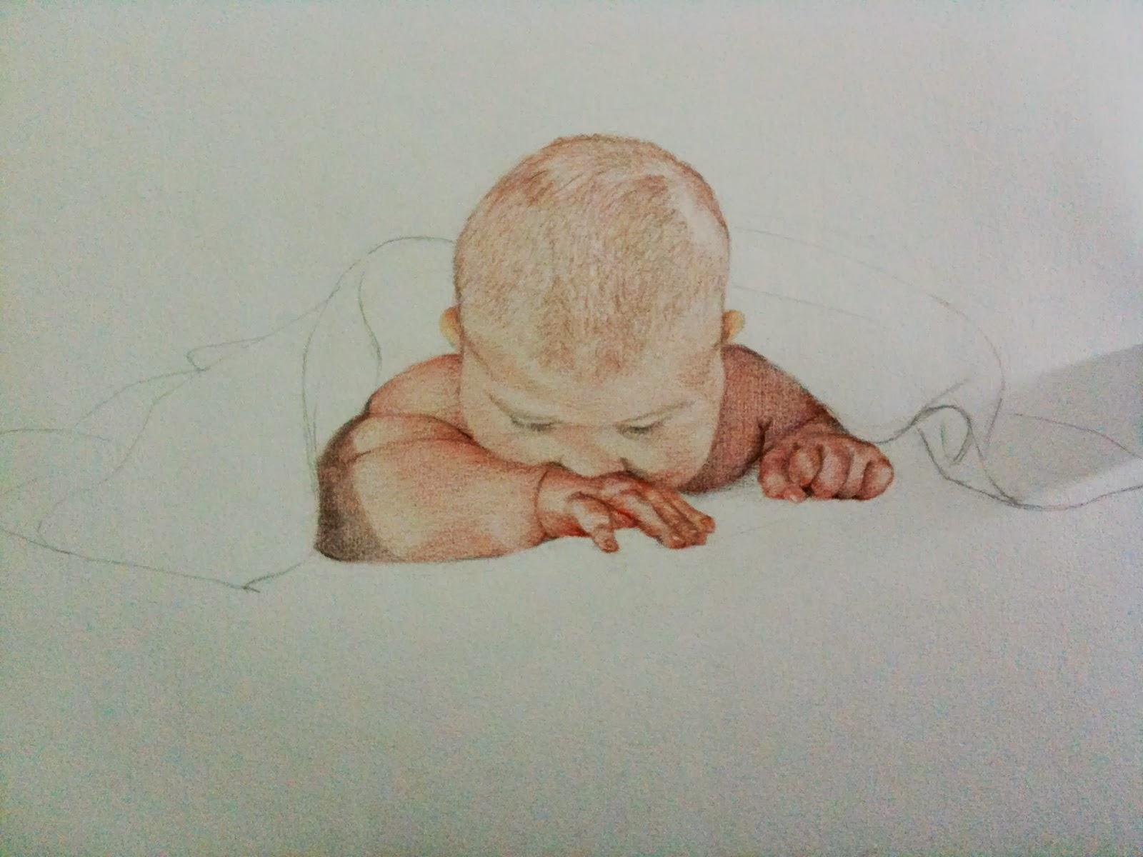 Dapur Sketsa Lois Baby Superman Paper Canson A3 Color