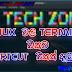 Linux වල terminal එකට shortcut එකක් දාමු!