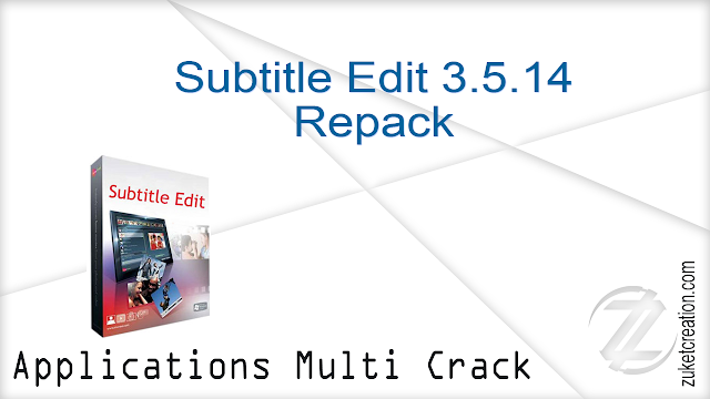 Subtitle Edit 3.5.14 Repack