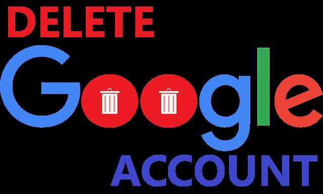 Delete Your Google Account