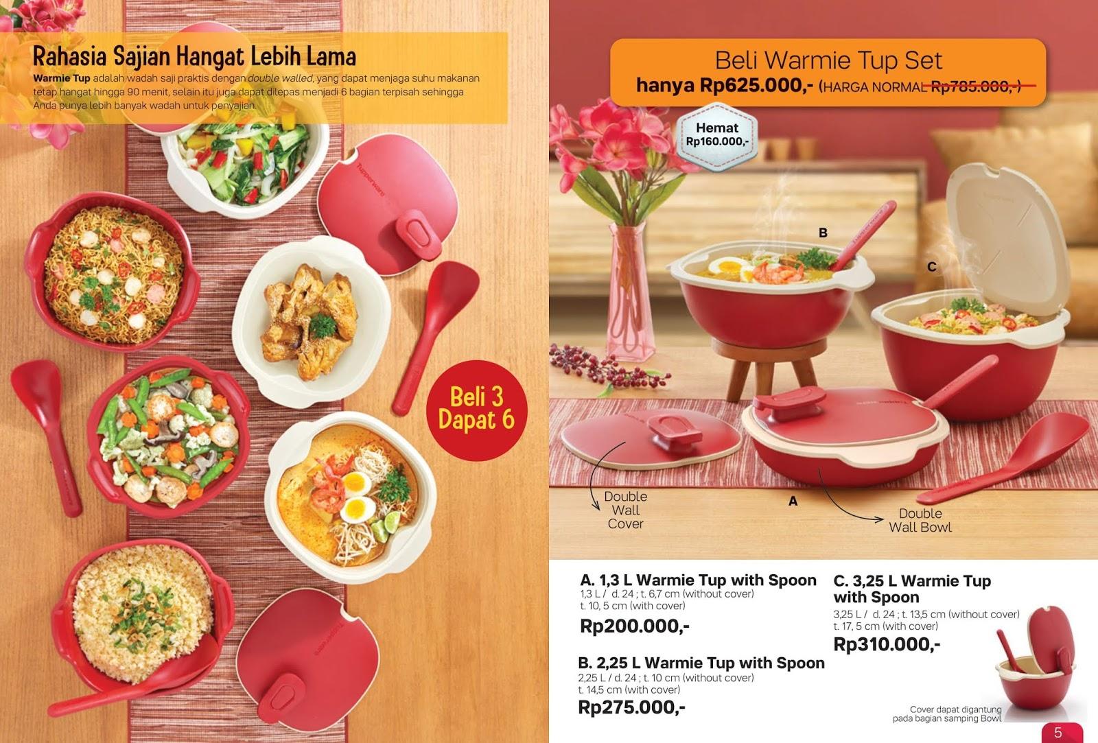 Katalog Tupperware Bulan Februari 2020