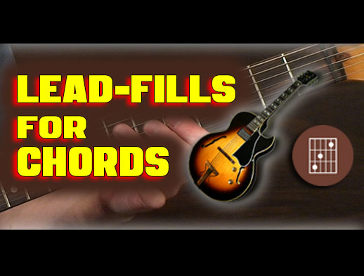 GUITAR THEORY: Tasty Lead Fills for Chords | Creative Guitar Studio
