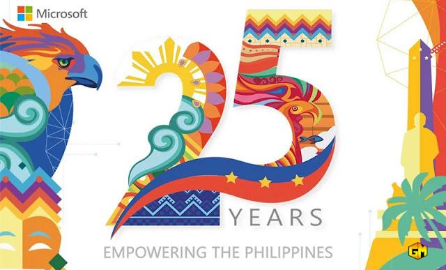 Microsoft 25 years PH Gizmo Manila