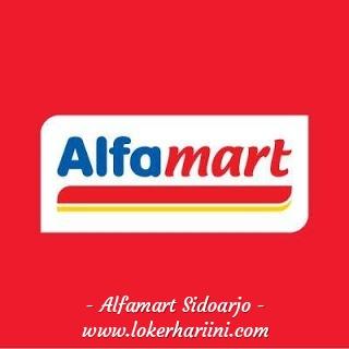 Lowongan Crew Store Kasir Pramuniaga Alfamart Sidoarjo 2021