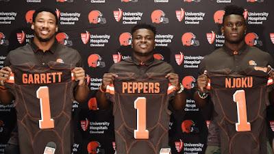 FÚTBOL AMERICANO - NFL Draft 2017: Cleveland Browns dio el primer pick al DE Myles Garrett