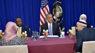 Obama Kecam Upaya Stigmatisasi Warga Muslim
