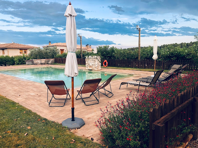 La piscina de Mas El Brugue