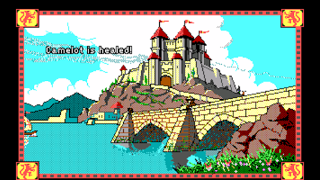Screenshot of Camelot from Conquests of Camelot