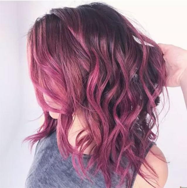 is purple hair pretty?