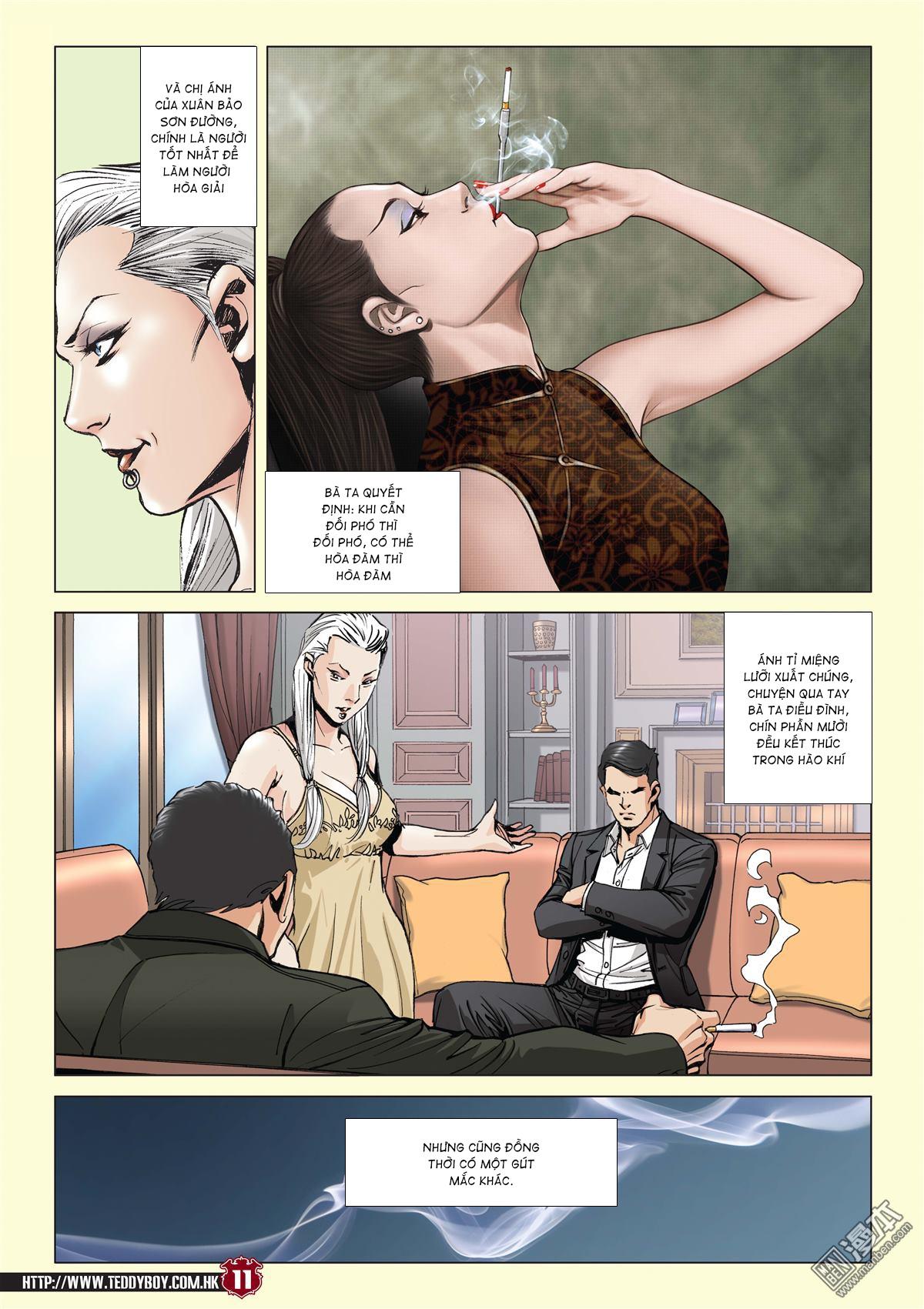 Người Trong Giang Hồ chapter 2059: gà rừng và đinh dao trang 8