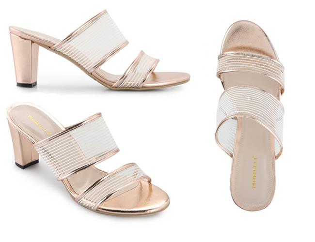 Sandal high heels untuk padupadan dengan kain kebaya