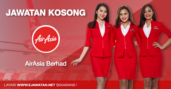 Jawatan Kosong di AirAsia Berhad 2020