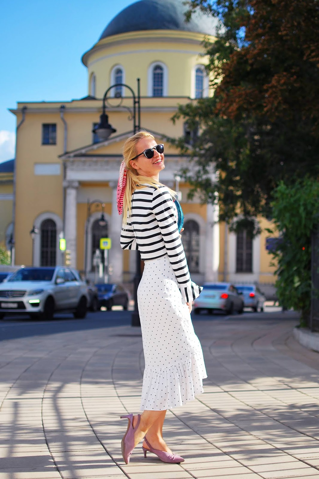 модные образы Москвы у модных блоггеров