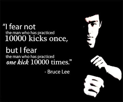 Quotes on practice makes man perfect