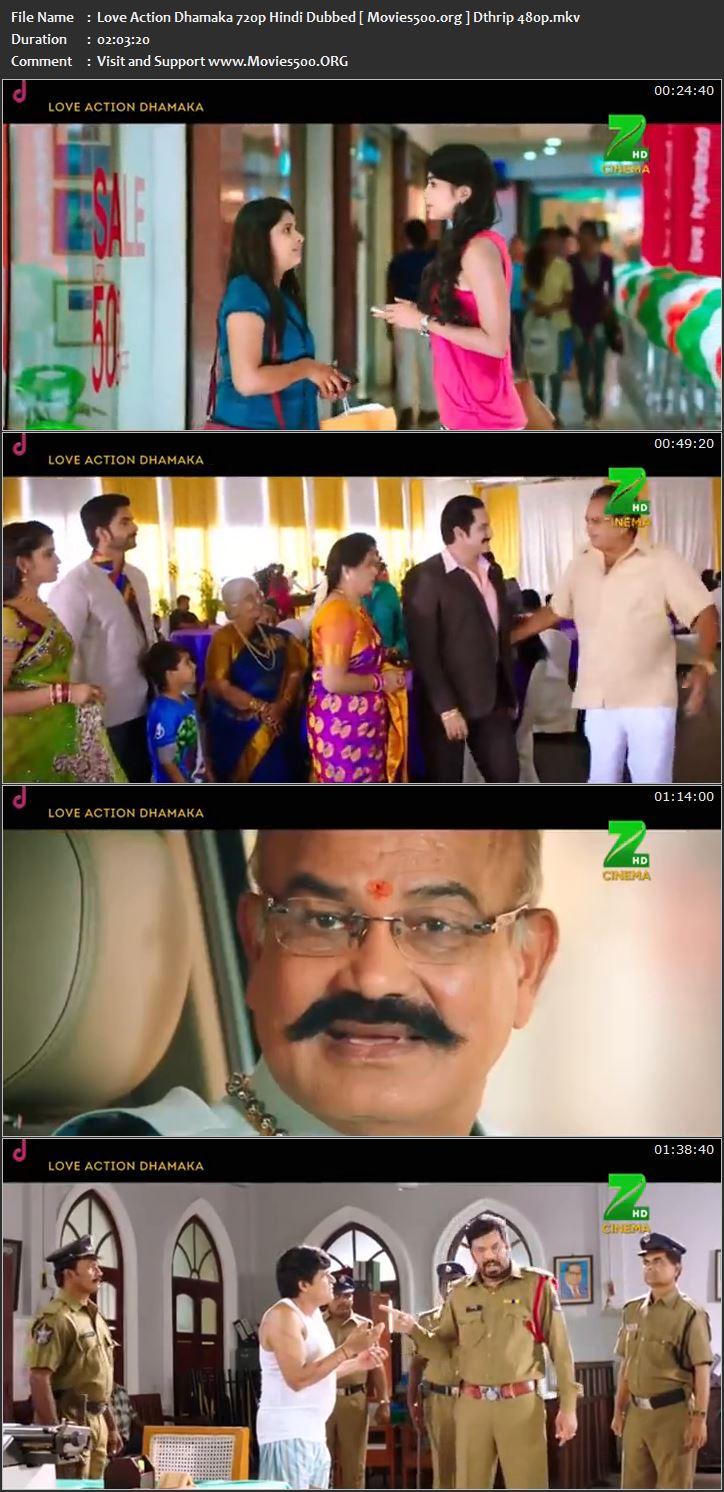 Love Action Dhamaka 2017 Full 300MB Hindi Download DTHRip 480p at movies500.site