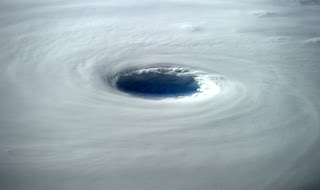 Super Typhoon Vongfong Eye