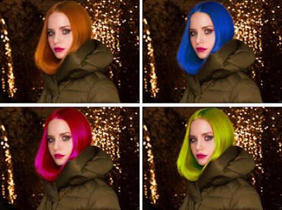 GIMP: Color de pelo