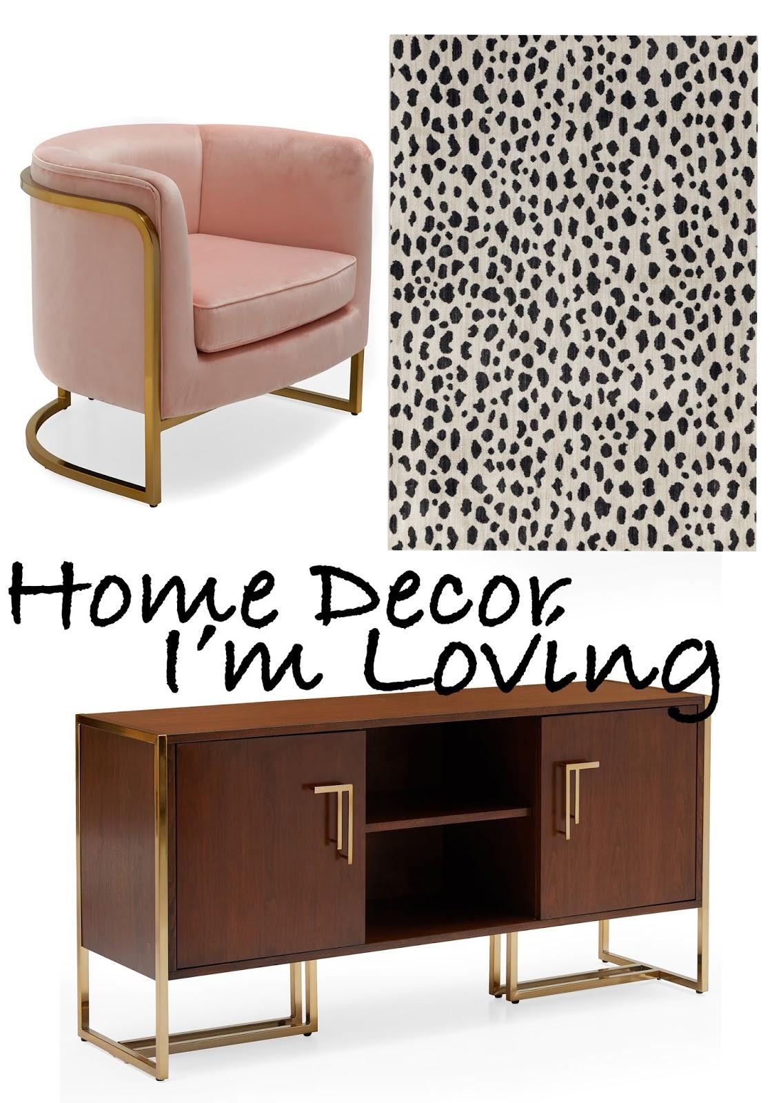 Home Decor I'm Loving Right Now
