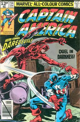 Captain America #234, Daredevil