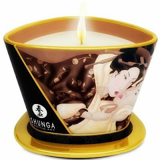 Vela masaje shunga aroma chocolate