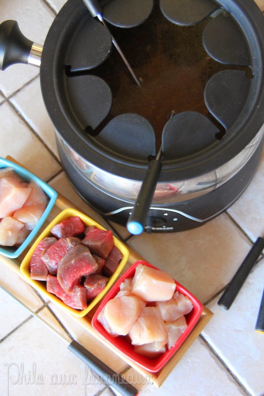philo aux fourneaux fondue de viande au bouillon. Black Bedroom Furniture Sets. Home Design Ideas