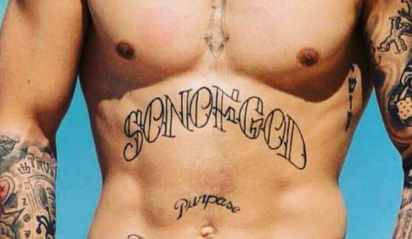 List of all justin bieber tattoos with meaning 2018 for God s son tattoo