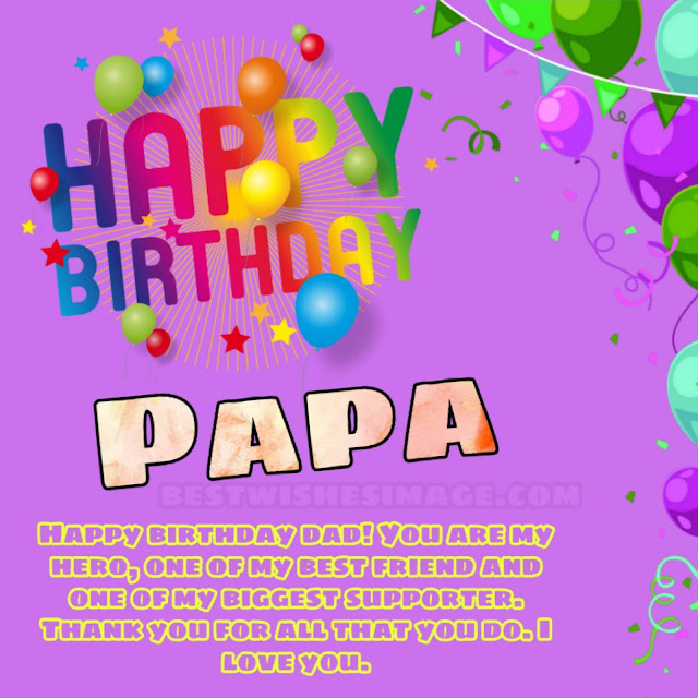 Happy birthday dad/papa images download