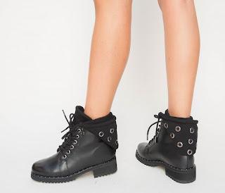 Ghete Madison Negre la moda toamna 2018