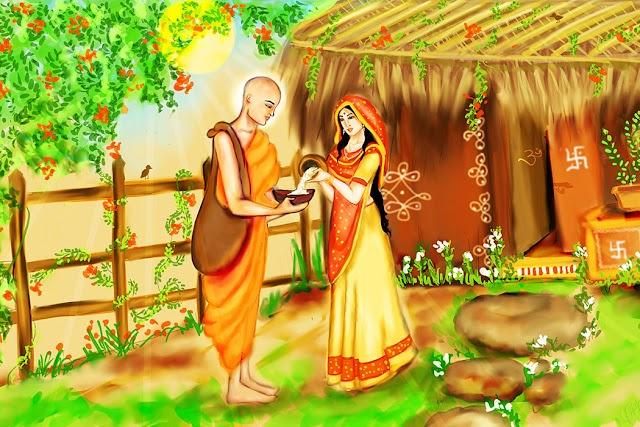 కనకధారా స్తోత్రం : సందర్భం