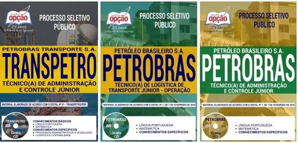 processo-seletivo-publico-transpetro-apostila-cargo-tecnico-a-de-administracao-e-controle-junior