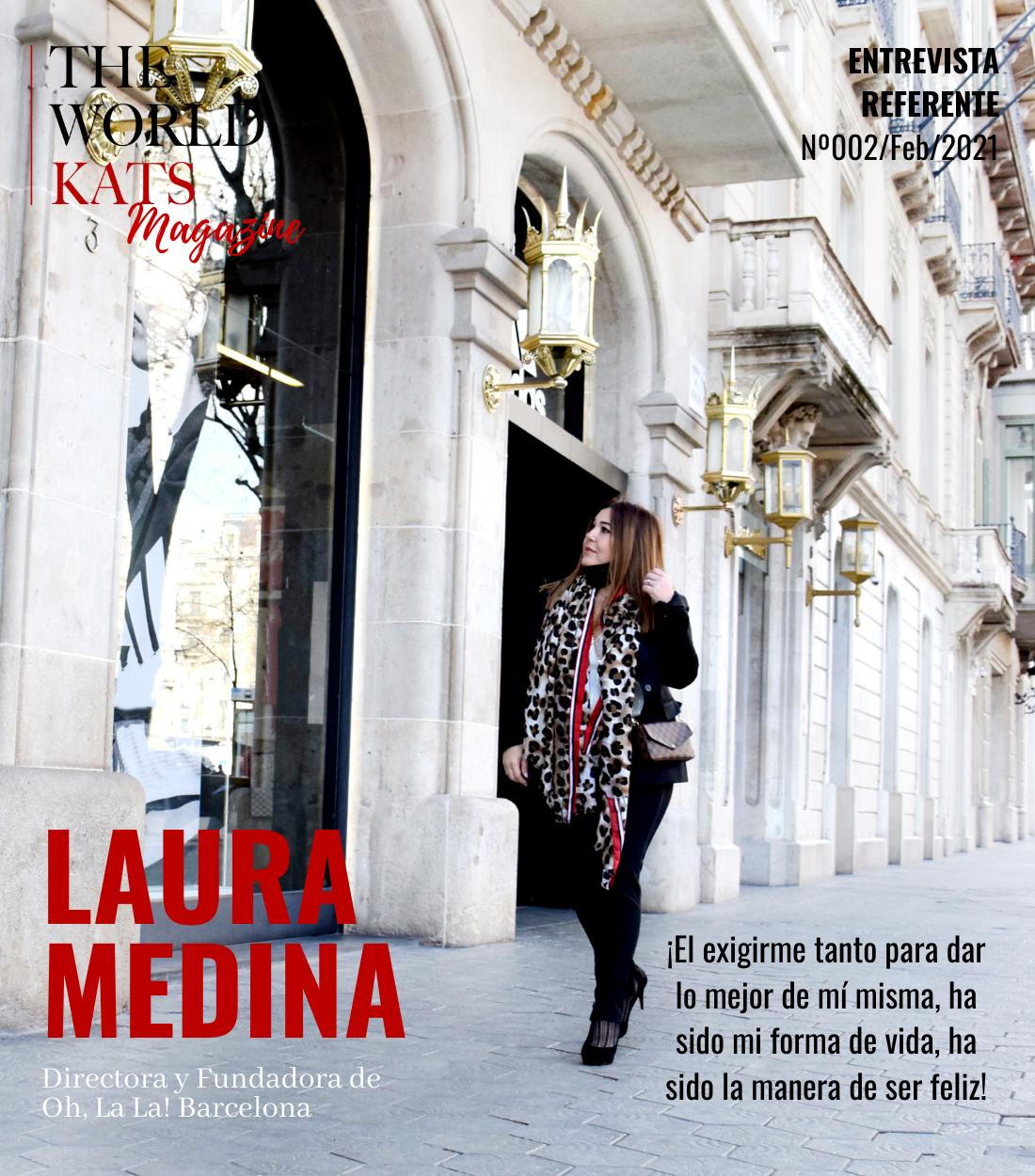 Entrevista a Laura Medina, Directora de Oh, la la! Event