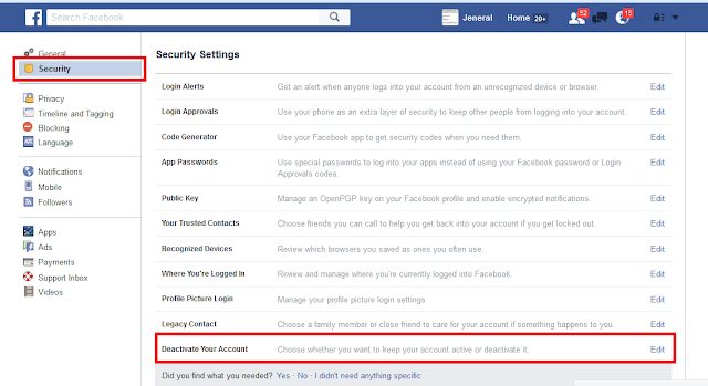 How To Temporarily Deactivate Your Facebook Account: Step By Step Guide 2