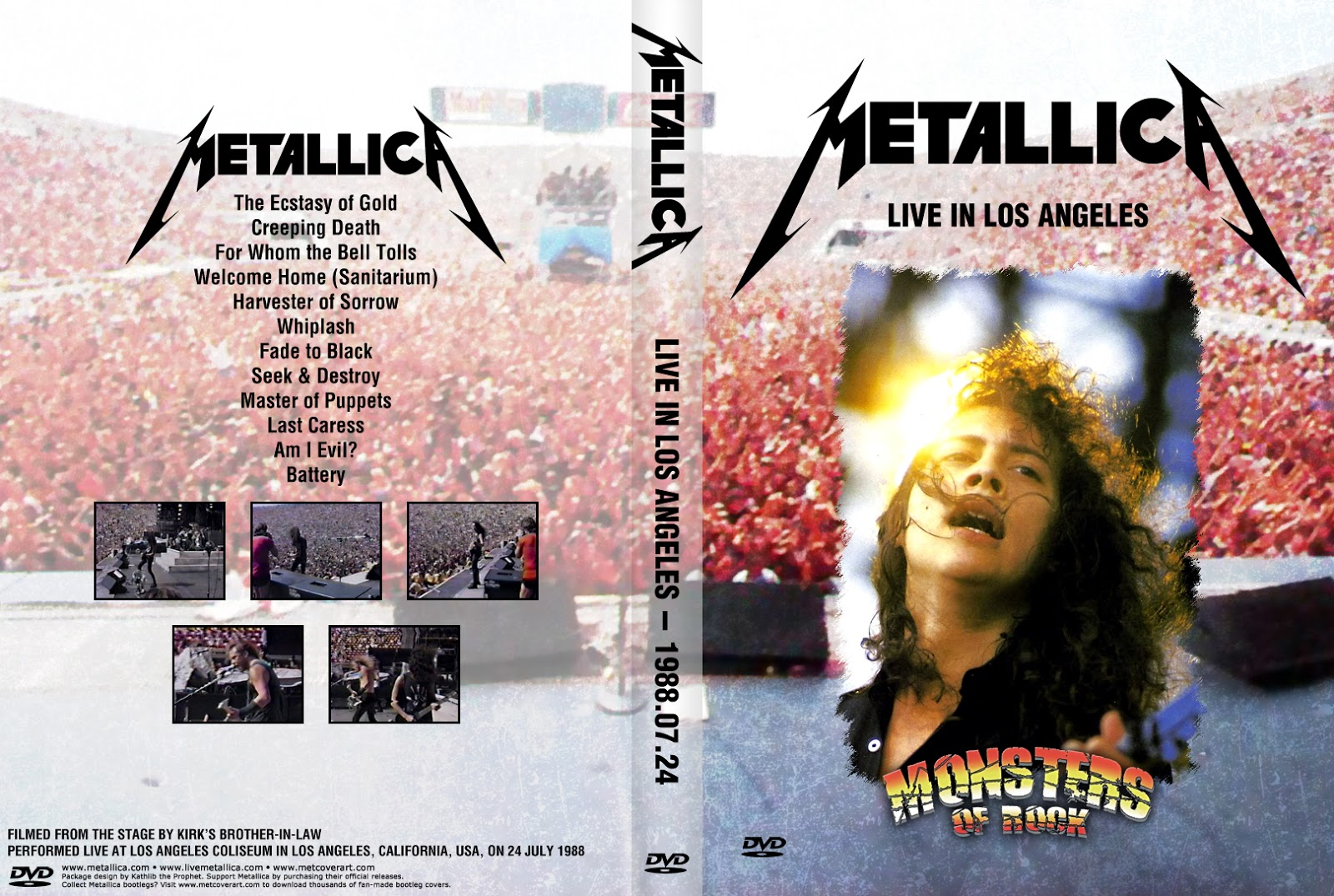 HEAVY-ROCK BOOTLEGS: Metallica:1988-07-24-Los Angeles Memorial