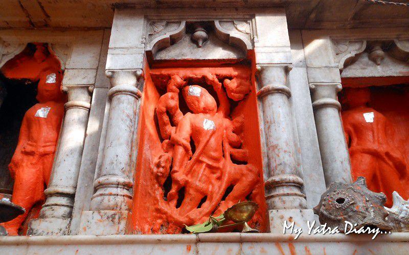 Lord Hanuman in ShaktiSthal Jeen Mata Temple Sikar Rajasthan