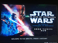The Rise of Skywalker, Vue Cinema