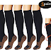 Amazon: $6.99 (Reg. $13.99) Compression Socks For Men & Women (5 Pairs), Size S/M! L/XL is $7.49!