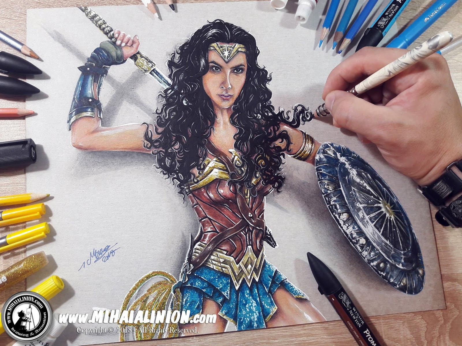 Drawing Wonder Woman, Drawing Gal Gadot, Drawing Diana Prince, Wonder Woman, Wonder Woman Series, Justice League, Wonder Woman The Movie, DC Wonder Woman, Gal Gadot Movie, Wonder Woman ComicBook, How to draw Wonder Woman, Wonder Woman pencil drawing, William Moulton Marston, Harry G. Peter, Supervillain, DC Heroes, Amazonian, Olympian, Steve Trevor, Themyscira, MAI Comics, Mihai Alin Ion, art by mihai alin ion, Drawing Marvel, Drawing DC, Marvel versus DC, Marvel Comics, DC Comics, Gerry Conway, how to draw, artselfie, drawing ideas, free drawing lessons, drawing tutorial, art, dessin, disegno, dibujo, drawing Marvel heroes, drawing DC heroes, drawing, illustration, painting, design, realistic 3d art, coloured pencils, www.mihaialinion.com, 2018, pencil drawing, tempera, acrilics paint, marker, gouache painting, mixed media, comics, comic book, caricature, portrait, cum sa desenezi, caricaturi mihai alin ion, caricaturi si portrete  la comanda, eveniment caricaturi, caricaturi la nunta, caricaturi la botez, caricaturi la majorat, desene pe pereti, desene pentru copii, ilustratie carte, benzi desenate, caricaturi, portrete, comanda caricaturi