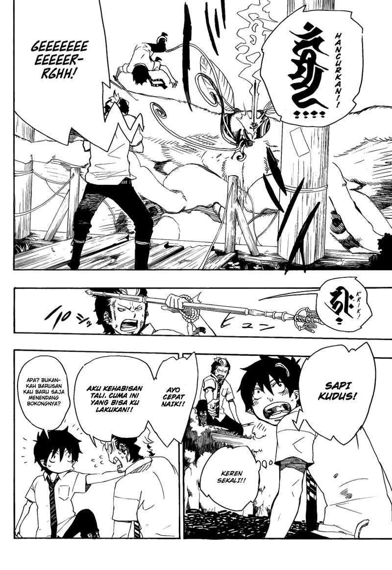 Ao no Exorcist Chapter 12-37
