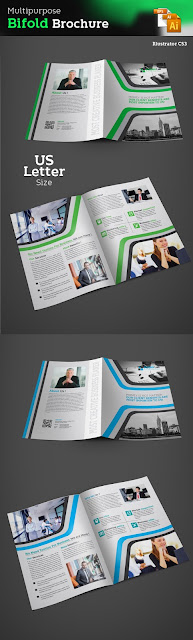 bifold, business, brochure, template, design, free, template, print, download