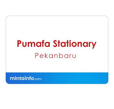 Lowongan Kerja Pumafa Stationary Terbaru Hari Ini, info loker pekanbaru 2021, loker 2021 pekanbaru, loker riau 2021