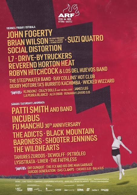 cartel, azkena, rock, festival, 2020, vitoria, gasteiz, mendizabala