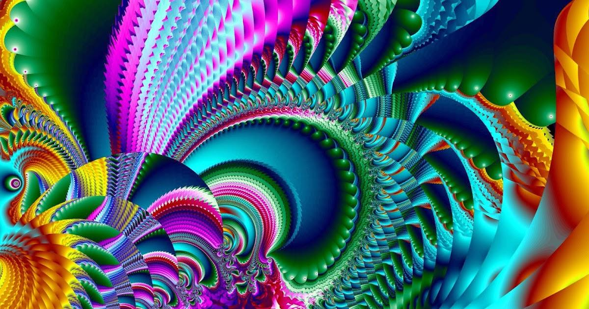 мигающая гиф абстракция сиреневый фон фракталы цветные кубики квадраты