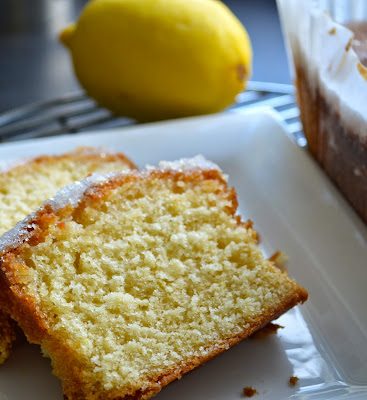 Lemon Drizzle Cake Crunchy Topping