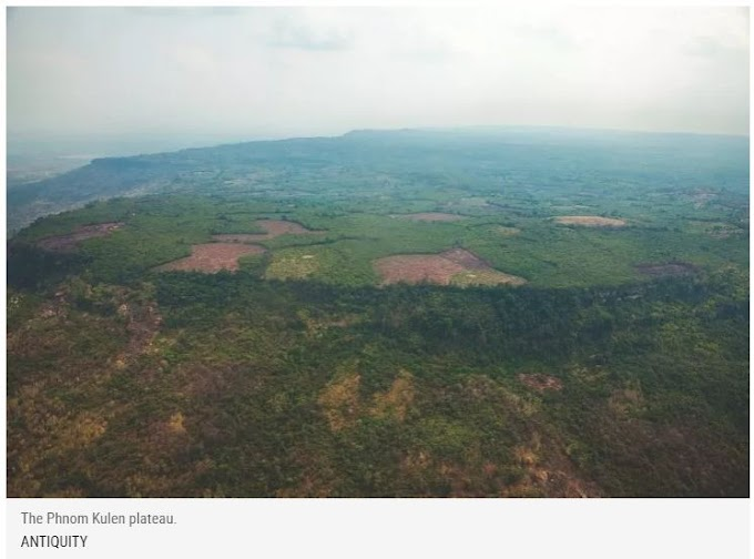 Lost Ancient City Discovered In Cambodian Jungle