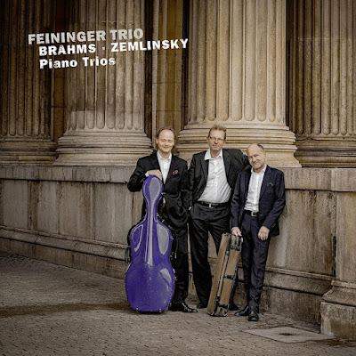 Brahms Zemlinsky Piano Trios Feininger Trio Album
