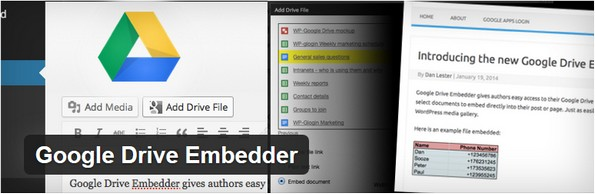 Use Google Drive to embed PDF files in blog posts