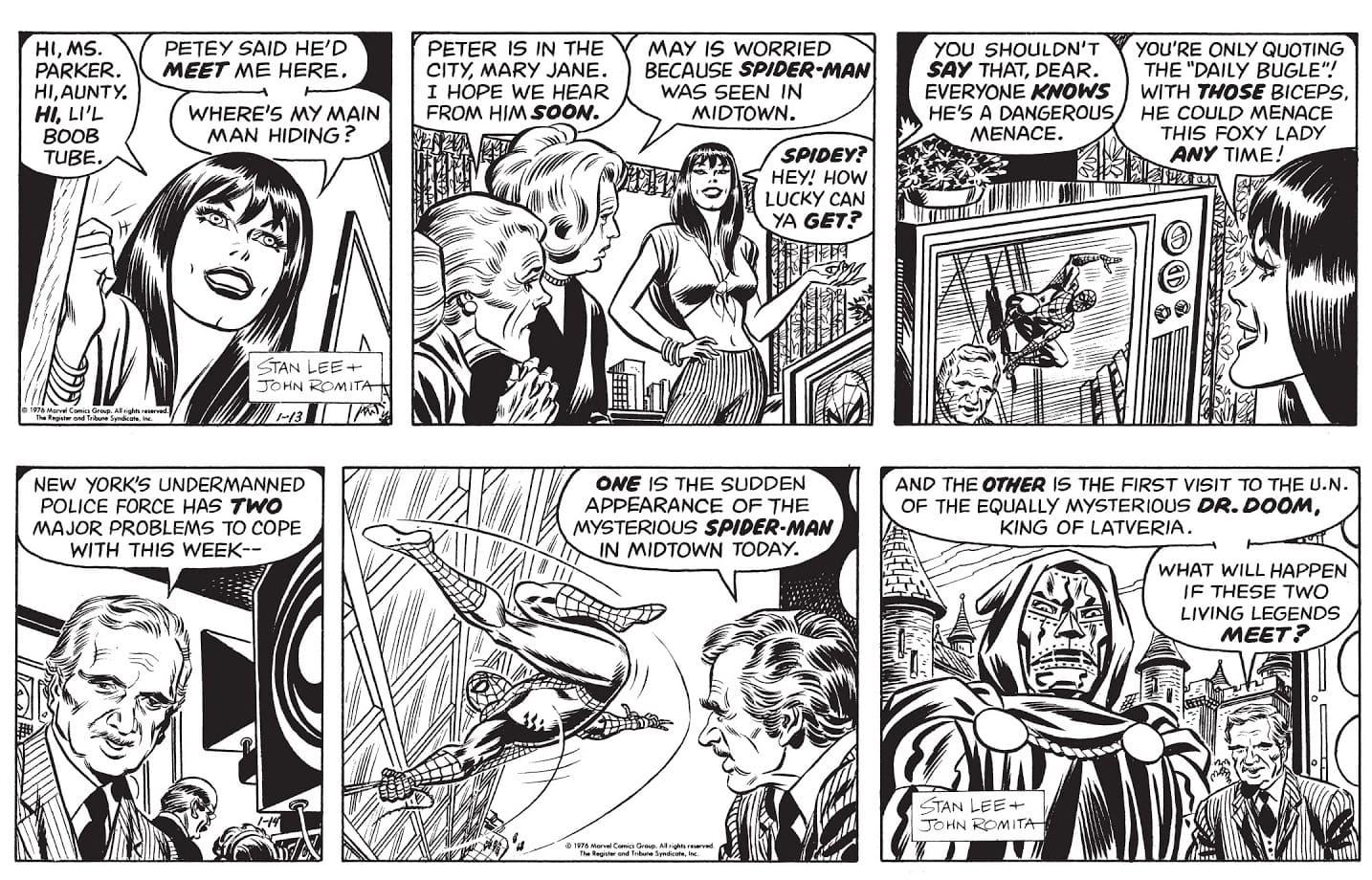 El Asombroso Spider-Man: Las Tiras de Prensa Vol. 1 1977-1979