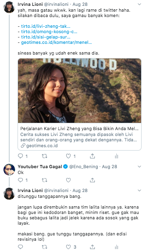 livi zheng oscar hollywood joko anwar