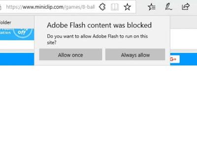 Adobe Flash edge