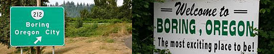 Boring - Oregon - USA
